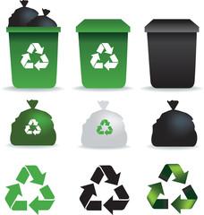 rubbish icons