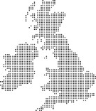 uk dot map - 13801161