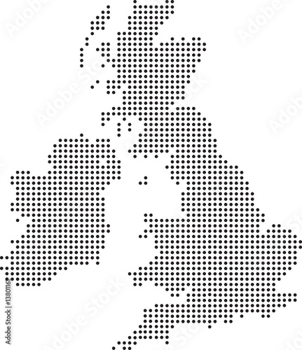 uk dot map