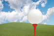 Golf ball scene