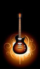 the fire guitar