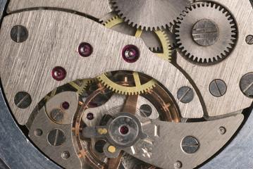 mechanism of analog hours