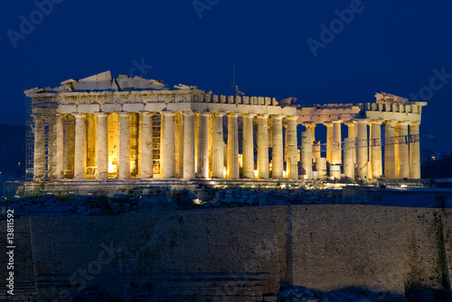 Keuken foto achterwand Athene The Parthenon of the Acropolis, Athens Greece