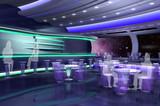 3D render of bar poster