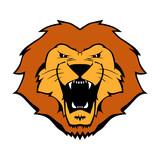 Lion Mascot Icon poster