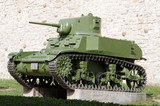 Tank, WW2 poster