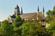 Leinwanddruck Bild - Basilique de l'abbaye royale de Fontevraud
