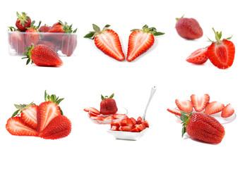 leckere erdbeeren kollektion