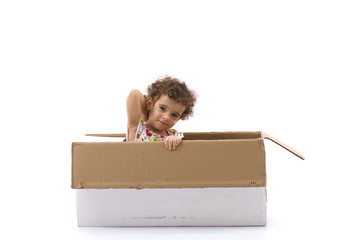 Child in Box