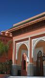 Moroccan doorways poster