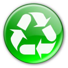 "Bouton ""Recycler"" (vert)"