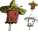 mexican swine poster