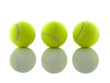 Tennis ball shadows