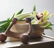 ambiance florale pour massage