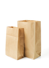 empty grocery paper bags
