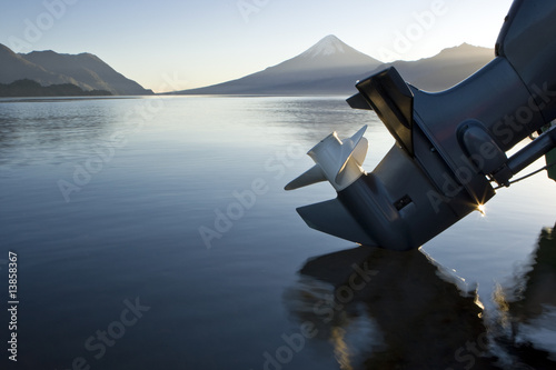Outboard reflection - 13858367