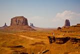 Monument Valley in Arizona, Blick von John Fords Point aus poster