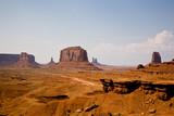 Monument Valley , Steinformationen bei John Fords Point poster