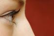 Mädchen, Augen von der Seite
