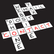 """Contact"" crossword puzzle"