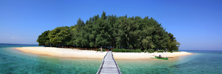 Panambungan Island location at south sulawesi