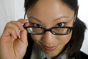Chinese Woman with Glasses