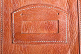 abstract close-up of old genuine leather background poster