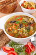 cabbage and mushroom soup
