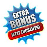 Extra Bonus! Button poster