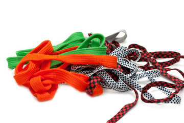 Colour shoelace