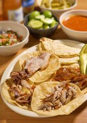 Tacos de carnitas. México
