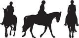 equestrian rider poster