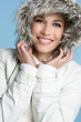 Smiling Winter Teen
