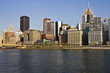 Downtown Pittsburgh accross the river