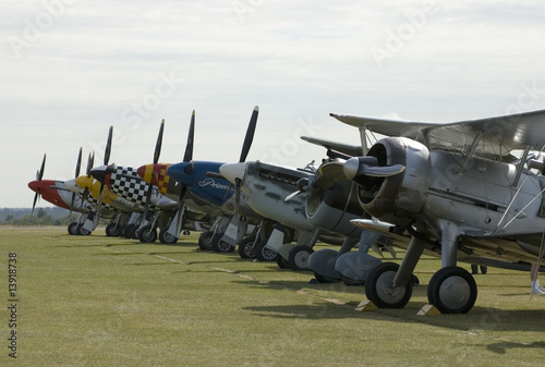 WWII planes at Duxford airshow