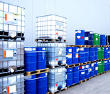 Container and oil drums - 13920569