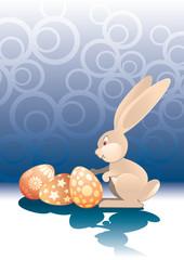 Easter Bunny, vector