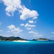 Deserted tropical islands of Japan