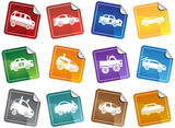 Hot Rod Stickers