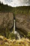 Spahats Falls, Wells Gray Provincial Park, British Columbia Canada poster