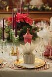 Fototapety Christmas dinner table