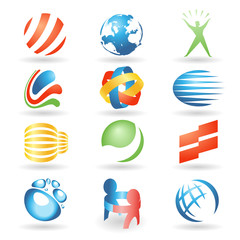 Set of vector design elements 7