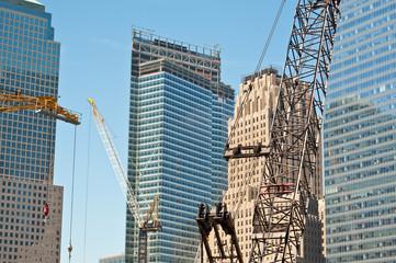 Contruction cranes