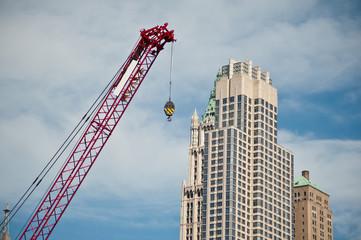 Contruction crane