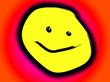 Happy Yellow Cartoon Face