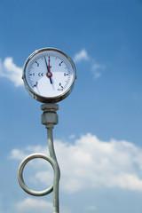 Gas pressure manometer