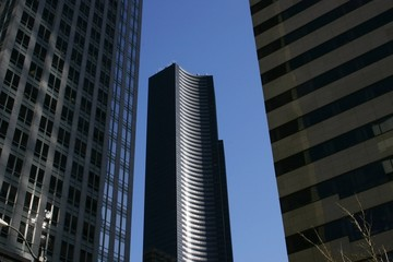 High rise buildings, Calgary, Alberta