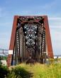 Abandoned railway bridge..