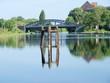 Kanal mit Brücke an der ehemaligen Conti Limmer