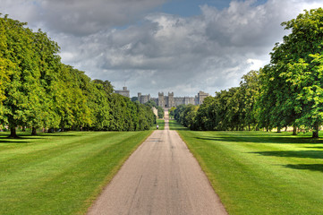 Windsor Castle Long Walk Berkshire United Kingdom